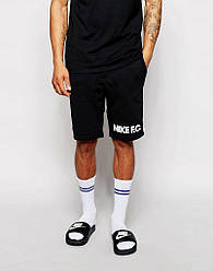 Шорты Nike ( Найк ) чёрные мужские трикотажные