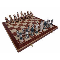 """Шахматы деревянные подарочные BST 480073 600*600 мм римские декоративные """"Клён"""""""