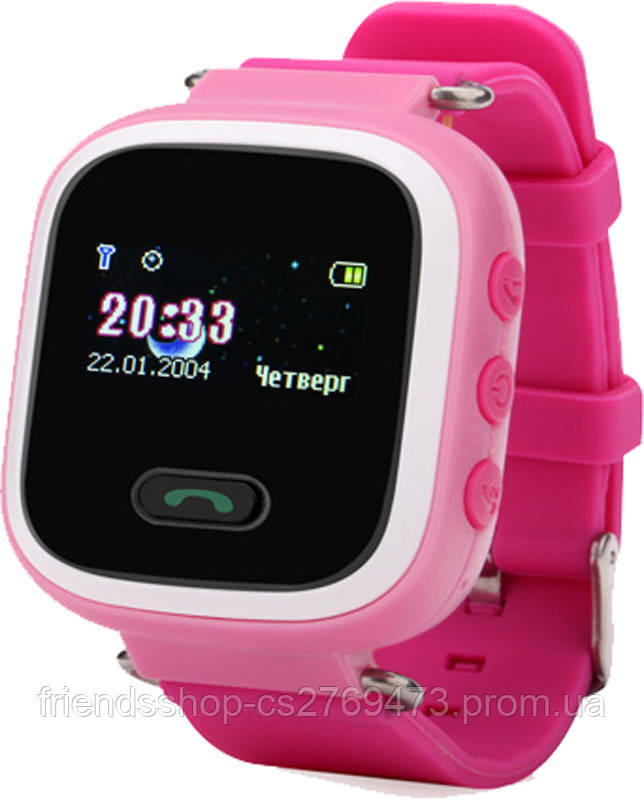 Смарт годинник Smart Baby Watch Q60 з GPS та кнопкою SOS  продажа ... ee182765a180e