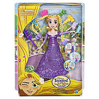 Шарнирная кукла Рапунцель Rapunzel  Disney Tangled the Series Spin 'n Style Rapunzel, фото 1