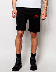 Шорты Nike ( Найк ) трикотажные красная галочка+лого