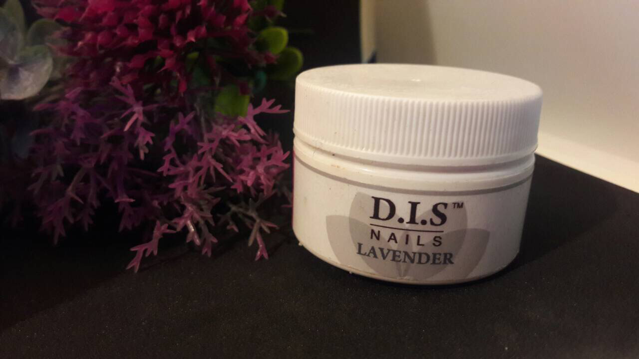 Гель цветной DIS 15ml lavender