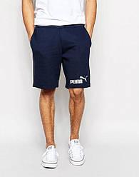 Шорты Puma ( Пума ) мужские синие значёк+лого