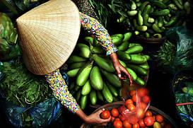 Вьетнамские товары: натуральный кофе, чай, лапша, соусы, сладости.