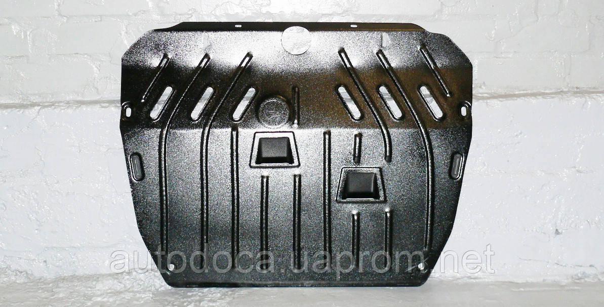 Защита картера двигателя и кпп Toyota Highlander 2010-