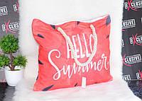 Женская тканевая пляжная сумка Арбуз., фото 1