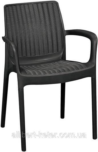 Стілець - крісло BALI MONO графіт (Keter)
