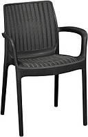 Стілець - крісло BALI MONO графіт (Keter), фото 1
