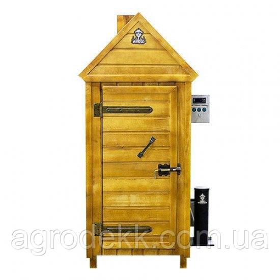 """Коптильня холодного копчения с деревянным шкафом (150х71х57) ТМ """"ДК"""""""