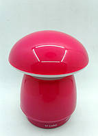 Портативная колонка A-30 Гриб (USB+SD+Bluеtooth+FM+дисплей+светомуз.+аккум+2-динамика) red