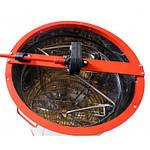 Медогонка 2-х рамочная нержавеющая, поворотная, кассеты из нержавеющей стали (КЗ), фото 4