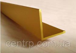 Угол алюминиевый анодированный от производителя ООО Профиль-Центр