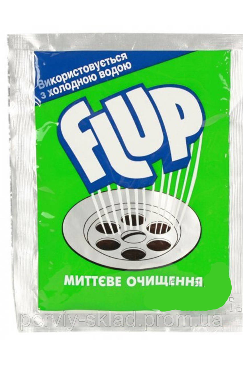 Средство для чистки труб Флуп 60г (для холодной воды)