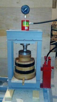 Масло пресс на 3 литра. Полный комплект под гидро цилиндр на 30 тон. , фото 2