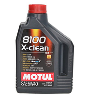 Масло моторное Motul 8100 X-clean 5W-40 2л