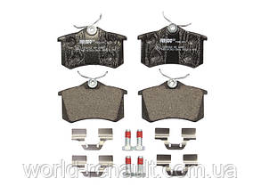 Комплект задних тормозных колодок Рено Меган 3, Рено Флюенс/ FERODO FDB1491