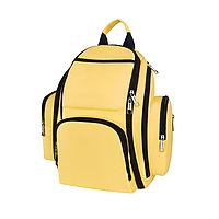 Сумка-рюкзак SUNROZ Mummy Bag мультифункциональный органайзер для мамы Желтый (SUN0625)