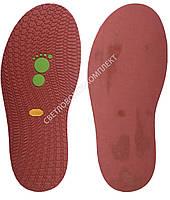 Резиновая подошва/след для обуви BISSELL, т.3,65 мм, art.111, цв. бордовый