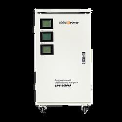 Стабилизатор напряжения (21000Вт) сервоприводный трехфазный LPT-30kVA