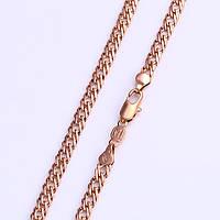Позолоченная цепочка Sofique с плетением двойной ромб 42351, фото 1