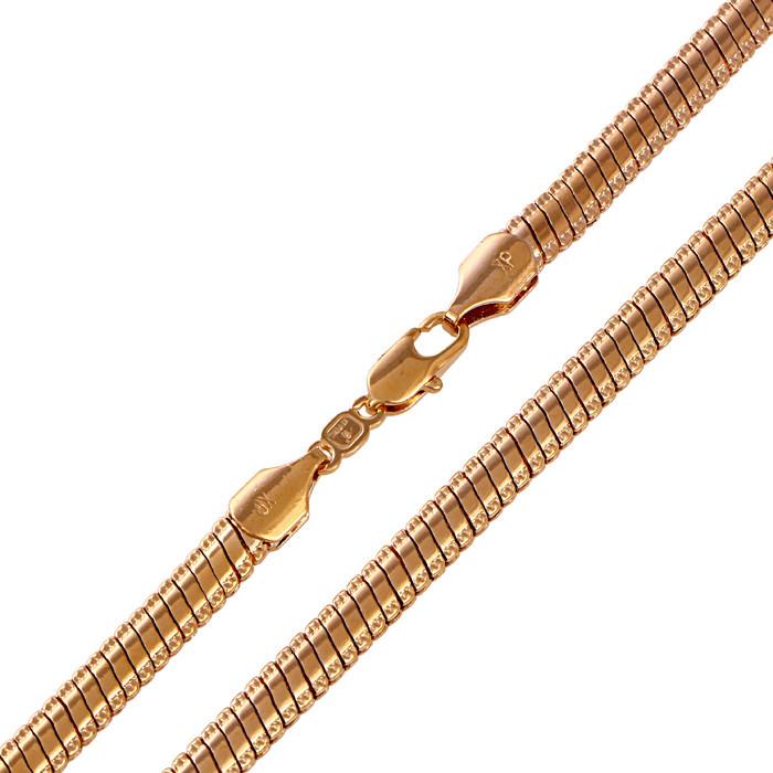 Позолоченная цепочка Sofique с плетением Снейк 41224