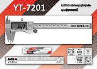 Штангенциркуль электронный 150мм/0,03мм.,  YATO  YT-7201