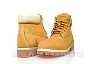 Стильные ботинки (ОРИГИНАЛ) Timberland Classiс 6 inch Желтые с белым