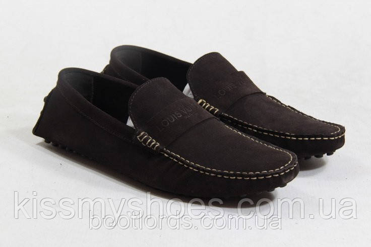 f62cd2b32cd9 Мужские мокасины Louis Vuitton Leisure 03 - Интернет магазин модной обуви и  одежды