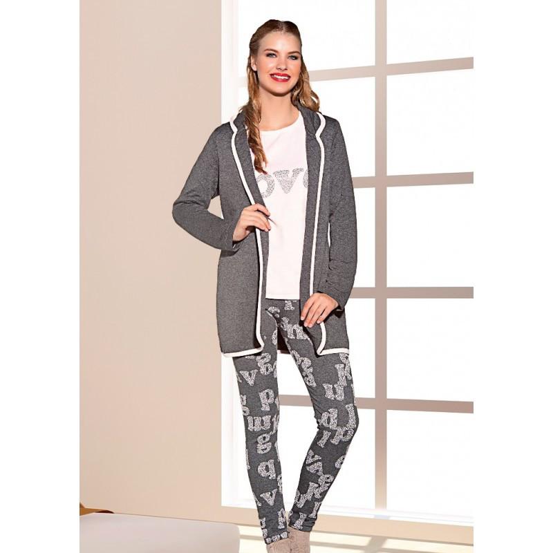 Домашняя одежда Lady Lingerie - Набор 16125 XL