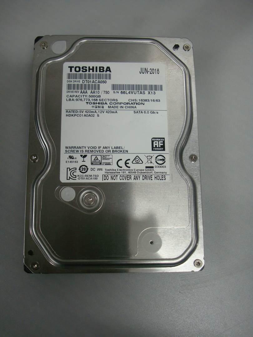 Жесткий диск Toshiba 500GB 7200rpm 32MB 3.5 SATA III