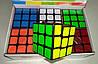 """Кубик Рубика 3*3*3 """"Неон"""" черный"""
