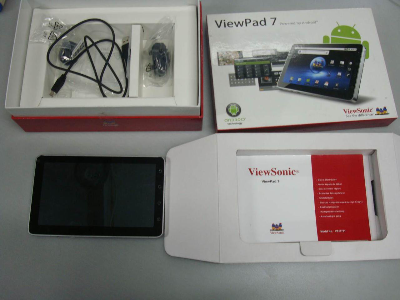 Планшет ViewSonic ViewPad 7(3G, GPS)