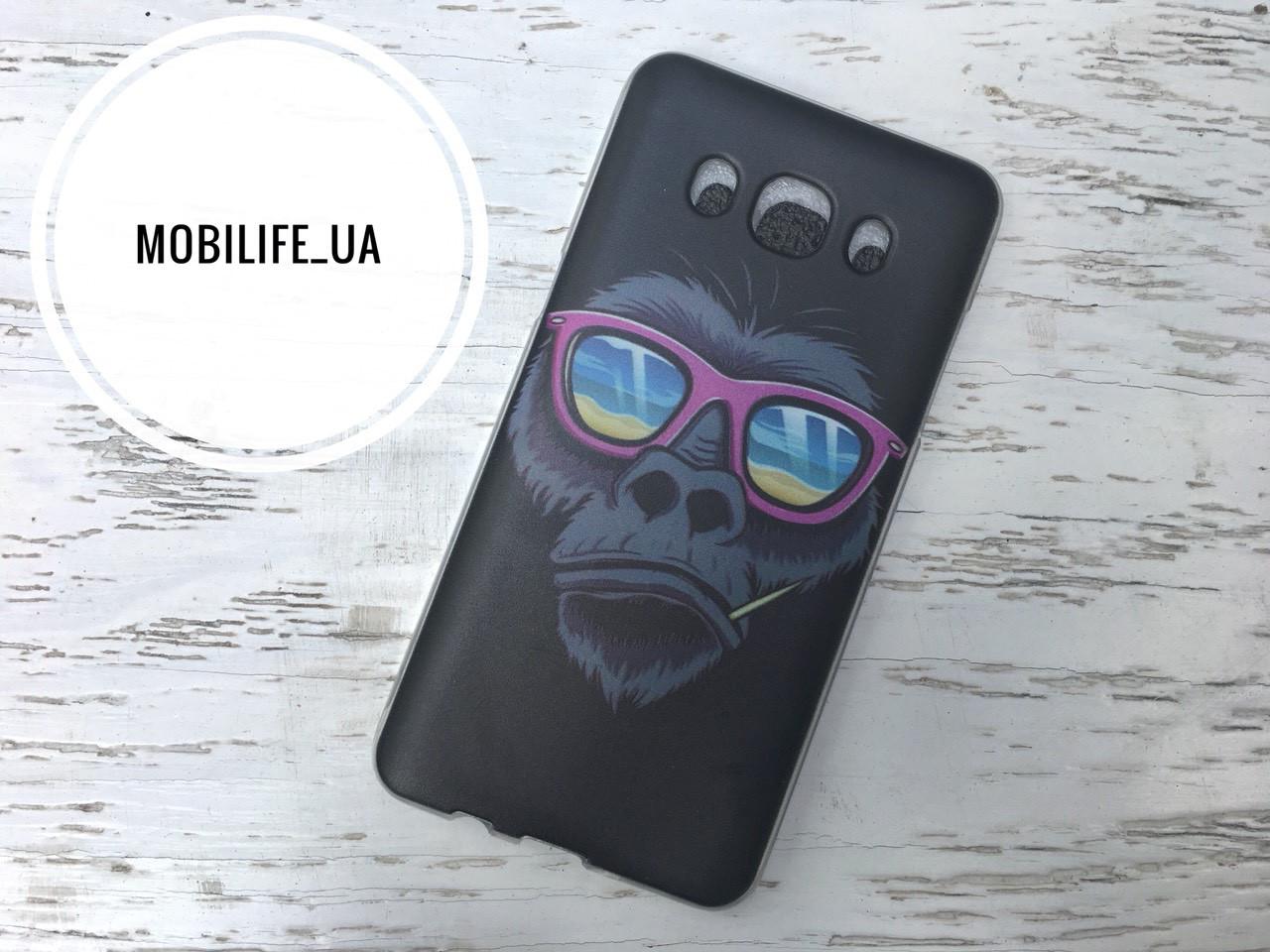 Чехол Samsung J5 2016 J510 Обезьяна /Силиконовый Чехол/