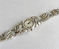 Серебряные женские наручные часы БР-10053