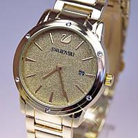 Женские наручные часы Swarovski Gold A13-1 кварц (реплика)