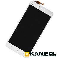 Дисплей (экран) с тачскрином Xiaomi Mi4s Белый