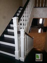 Виготовлення та монтаж сходів з масиву дерева
