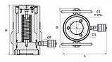 Домкрат грузовой гидравлический односторонний серия ДГ...П..., фото 2