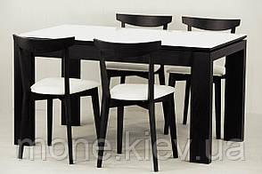 """Комплект """"Донато """" стекло стол и 4 стула, фото 2"""