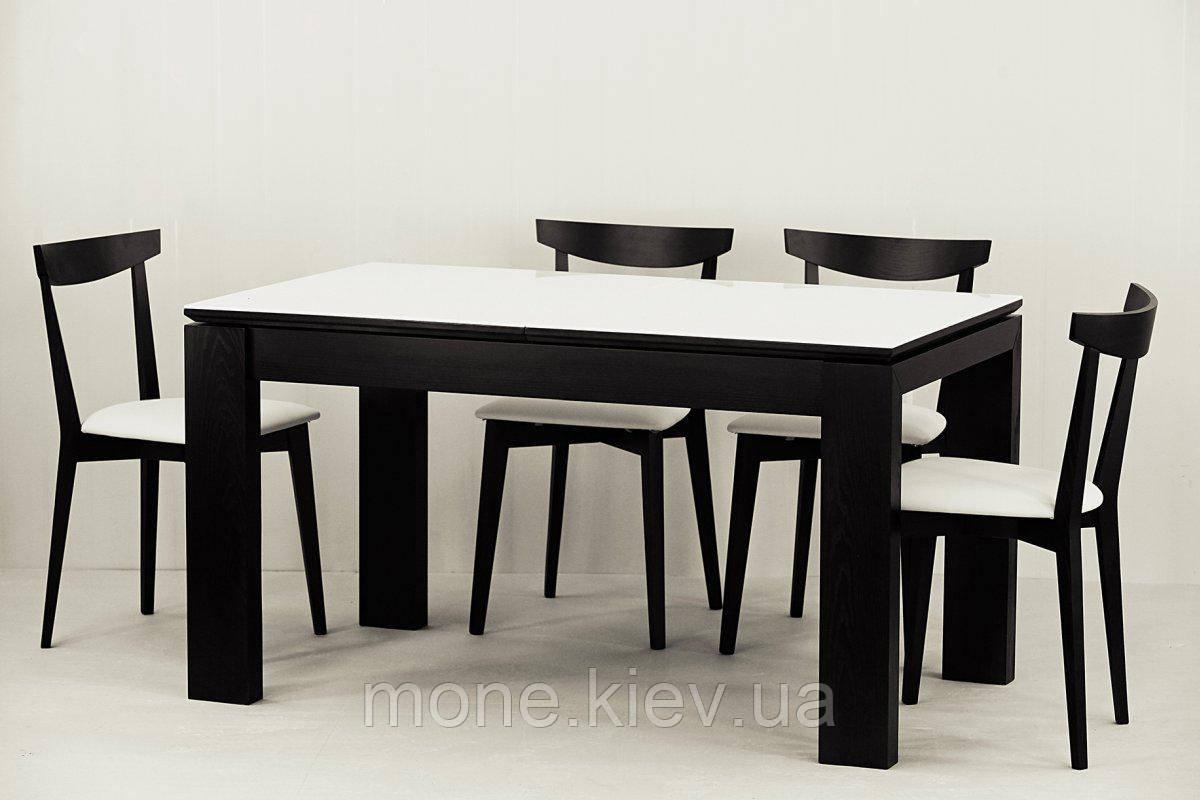"Комплект ""Сабрина "" стекло стол и 4 стула"
