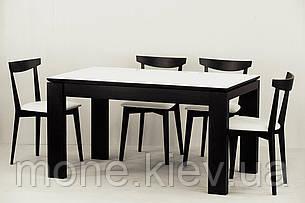 "Комплект ""Сабрина "" стекло стол и 4 стула, фото 2"