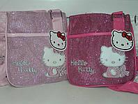 Малиновая детская сумка Hello Kitty