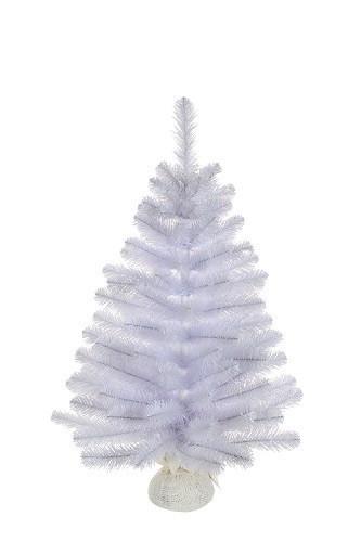Сосна 90 см Icelandic iridescent белая с блеском