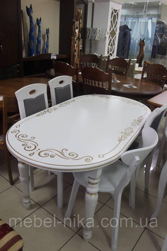 Стол обеденный овальный Дунай Tr