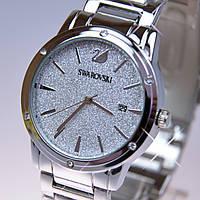 Женские наручные часы Svarovski Silver A13-1 кварц (реплика)