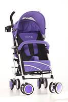 Детская самая легкая фиолетовая/сиреневая коляска трость на осень/зиму Viva Kids iWALK, фото 1