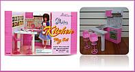 """Меблі для ляльок (кукол) типу """"Барбі"""" """"Gloria"""" 94016 (36шт) кухня в кор. 33*13*32 см"""
