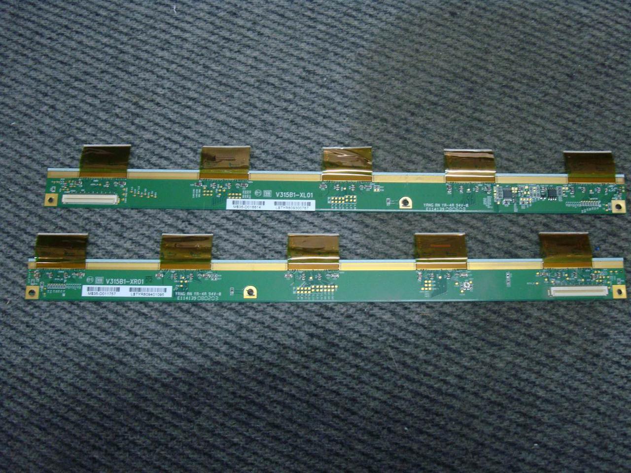 Планки матрицы V315B1-XL01 V315B1-XR01