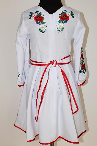 Вишите плаття для дівчинки  Орися біле  продажа 25b028e4d8328