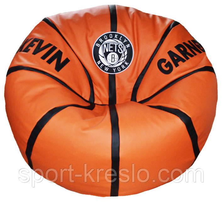 Бескаркасное Кресло мяч пуф баскетбол